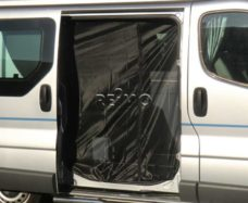 Moskitnaya setka dlya razdvizhnoj dveri Renault Trafic Opel Vivaro 2014