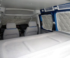 Teploizolyatsiya Isoflex VW Caddy polnyj komplekt 10 shtuk