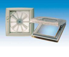 Omni Vent Prozrachnyj lyuk na kryshu s ventilyatorom 40h40