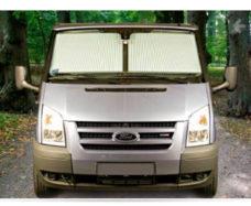 11 SHtorki REMIfront zatemnyonnye na bokovye okna dlya Ford ot 2014 goda tsvet seryj