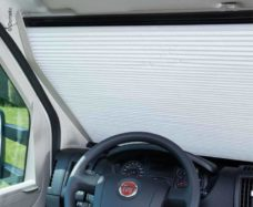 23 ZHalyuzi na lobovoe steklo FP 200 Fiat Ducato X250 i X290