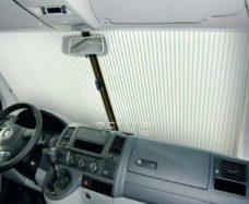 8 REMIfront rulonnaya shtorka dlya VW T5 s 2010 goda seraya tolko dlya VW T5