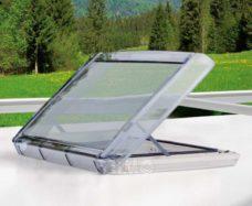 Lyuk REMItop VarioII Rooflight 40x40 s zubchatym pozitsionerom 1