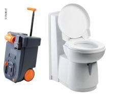 13 Kasseta tualetnaya C263 CS Rinse elektricheskaya plastik belyj