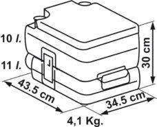2 Tualet dlya kempinga Fiamma Bi Pot 30