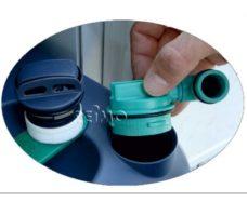 28 SOG ventilyatsionnyj komplekt tip G korpus filtra belyj
