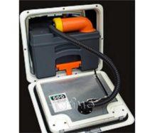 Комплект приточной вентиляции тип F, для C 250 темно-серый