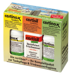 26 Nabor dlya sterilizatsii vody Certibox CB 100 Set