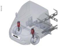 28 AL KO Comfort Suspension 40 Heavy dlya shassi Fiat Ducato s 2006 goda