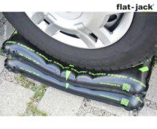 57 SHinnyj domkrat na vozdushnoj podushke s shinami shirinoj do 255 mm