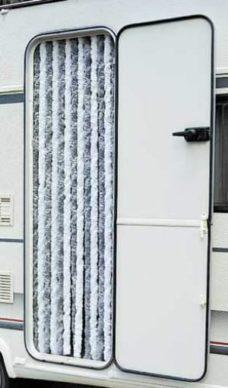 6 Zanaveska na lipuchke 100h200sm korichnevogo tsveta dlya tentovyh ili balkonnyh dverej