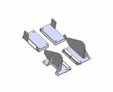 67 Nabor adapterov dlya Carbest Autolift dlya Iveco Daily