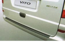 72 Zashhita kraya pogruzki dlya Mercedes Vito Viano s 2003 goda s okrashennym bamperom
