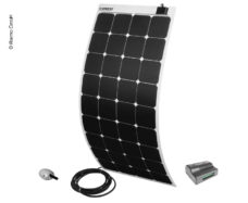 15 Solnechnyj komplekt Power Panel Flex 130 ot Carbest 12V 130W kvadrat belyj