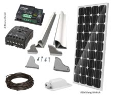 44 Komplekt solnechnyh batarej 120 Vt ot Carbest