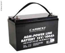 60 Akkumulyator AGM 100Ah Carbest 330 x 171 x 220 mm