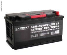 61 Akkumulyator AGM 100Ah 353 x 175 x 190 mm dlya T5 Carbest