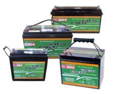 18 Solnechnaya batareya Green Power AGM batareya GP250 250 Ach