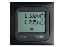 41 Sensornaya panel displeya dlya testirovaniya dvuh solnechnyh batarej 12 V