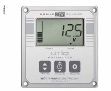 57 ZHK voltmetr solnechnyj kompyuter 12V