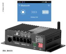 77 Carbest MPPT kontroller solnechnoj zaryadki 25 A s Bluetooth