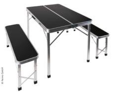 3 Perenosnoj piknik komplekt PICKNICK stol s 2 skamyami