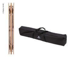 7 Bambukovyj stol HOLIDAY TRAVEL 80 x 60 x 43 65sm alyuminievaya rama