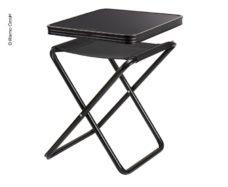 41 Taburet pohodnyj taburet stolovyj Pasadena Camp4 chernyj zagruzhaemyj 30kg 100kg