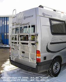 40 Bagazhnik zadnij dlya Ford Transit 2006 2013