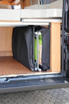 54 Hindermann Sistema hraneniya dlya furgonov s zakrytym kuzovom 116 x 30 x 66 sm