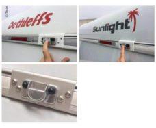 62 Adapter Dethleffs Carado Sunlight dlya velokrepleniya Thule G2 5 sht