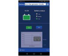 102 Bluetooth monitor akkumulyatora Haba Sense