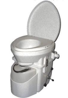 51 Razdelitelnyj tualet dlya kempinga s ruchkoj paukom