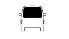 36 Steklo zadnee zhestkoe dlya VW Caddy Maxi BJ 2015 2020 gg