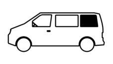 38 Vstroennoe okno dlya Mercedes Benz Vito zadnee levoe