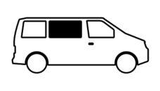 40 Vstroennoe okno dlya Mercedes Benz Vito