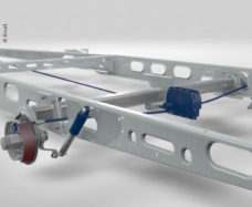 124 KNOTT ETS Plus Sistema stabilizatsii dlya odnoosnoj 1401 1800kg