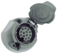 9 13 kontaktnaya rozetka dlya pritsepa s otklyuchaemym kontaktom dlya zadnej protivotumannoj fary