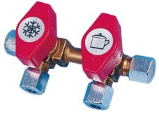 120 Blok gazovyh klapanov VK2 vhod 8 mm