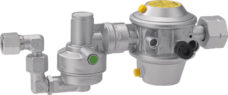 131 Sistema bezopasnogo regulirovaniya davleniya gaza dlya raboty odnotsilindrovyh sistem