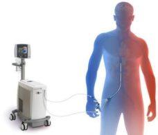 16 Sistema mezhsosudistogo kontrolya temperatury Zoll Thermogard XP