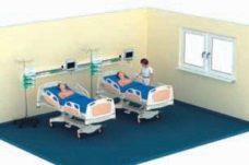 18 Konsol dlya otdeleniya intensivnoj terapii Draeger LINEA