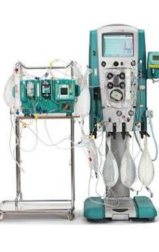 4 Dializnaya sistema Baxter Prismaflex