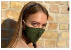 46 Maska antibakterialnaya mnogorazovaya temno zelenaya