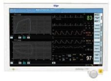 7 Monitor patsienta Draeger OMEGA S
