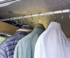 23 Veshalka dlya zadnego garazha 1150 x 40 x 40 mm