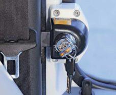 55 HEOSafe bezopasnost dveri Renault Master ot modeli 2000 goda povorotnaya ruchka s zamkom